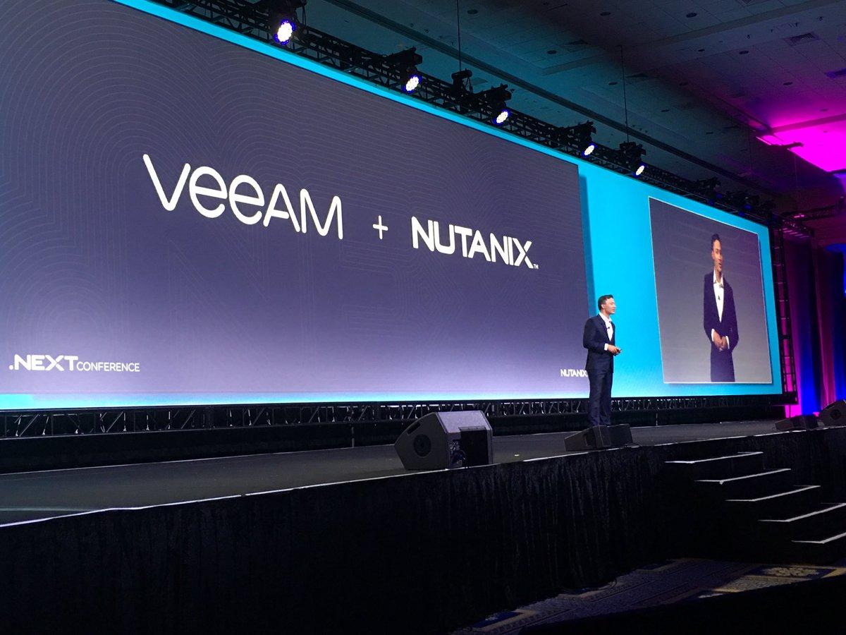 Veeam & Nutanix